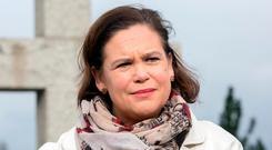 Mary Lou McDonald. Photo: Tony Gavin