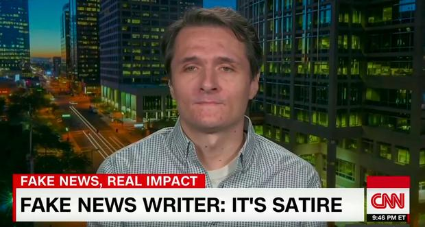 Fake news writer in 2016 presidential election found dead