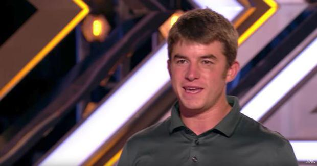 Anthony Russell on X Factor