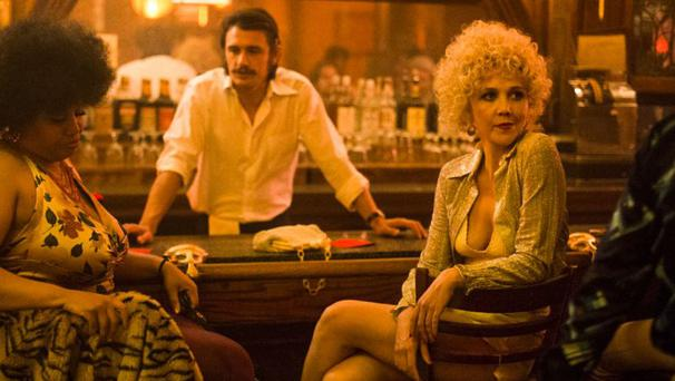 James Franco and Maggie Gyllenhaal in The Deuce