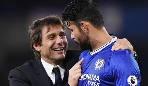 Diego Costa has not seen Antonio Conte since he received a text message to say his Chelsea career was over