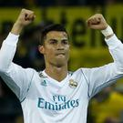 Cristiano Ronaldo took a swipe at his critics following his two-goal display for Real Madrid. Getty