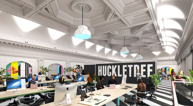 First Look: Huckletree's new co-working space in Twitter's old Dublin HQ