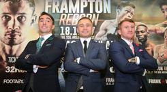 Jamie Conlan, Carl Frampton and Paddy Barnes are all set for their November 18 bouts.