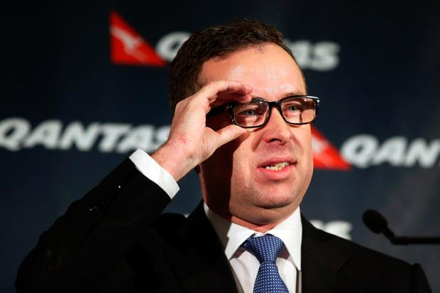 Mr Joyce was appointed chief executive Qantas in 2008, having been the boss of Jetstar from 2003. Photographer: Brendon Thorne/Bloomberg