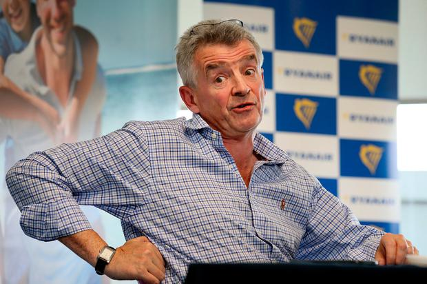 Ryanair CEO: Michael O'Leary. Photo: Frank McGrath