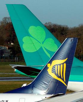 Aer Lingus was eyeing a service to run two to three times a week. Photographer: Crispin Rodwell/Bloomberg News
