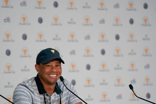 Woods has not played since pulling out of the Dubai Desert Classic in February and underwent his fourth back surgery in April. Photo credit: Kyle Terada-USA TODAY Sports
