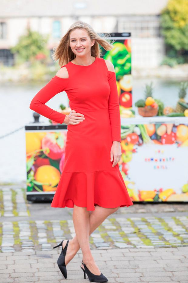 Anna Daly,TV presenter launching Tesco's ;The Community Chill' campaign. Picture: Naoise Culhane