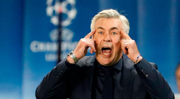 Bayern Munich sack Carlo Ancelotti three weeks before Celtic clash
