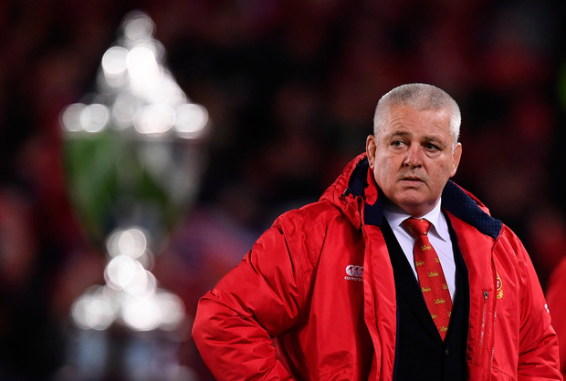 8 July 2017; British and Irish Lions manager head coach Warren Gatland ahead of the Third Test match between New Zealand All Blacks and the British & Irish Lions at Eden Park in Auckland, New Zealand. Photo by Stephen McCarthy/Sportsfile
