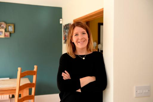 Always on: 'I couldn't switch off from work,' says Nuala Grant. 'That stress is on very woman'. Photo: Caroline Quinn