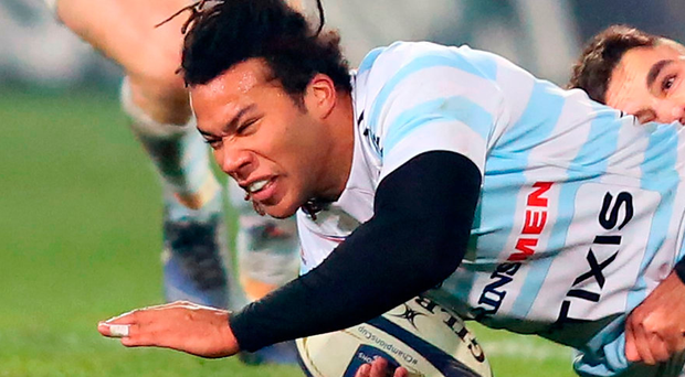Racing 92's French wing Teddy Thomas. Photo: Getty Images