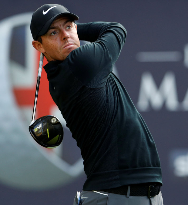 Rory McIlroy: Four off the pace. Photo: Lee Smith