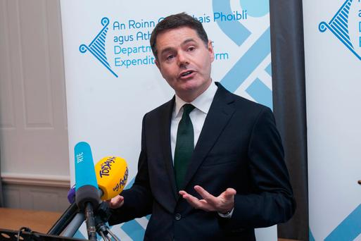 Paschal Donohoe needs Fianna Fáil support for his first Budget Photo: Gareth Chaney Collins