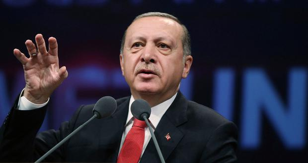 President Erdogan warned Kurds would go hungry