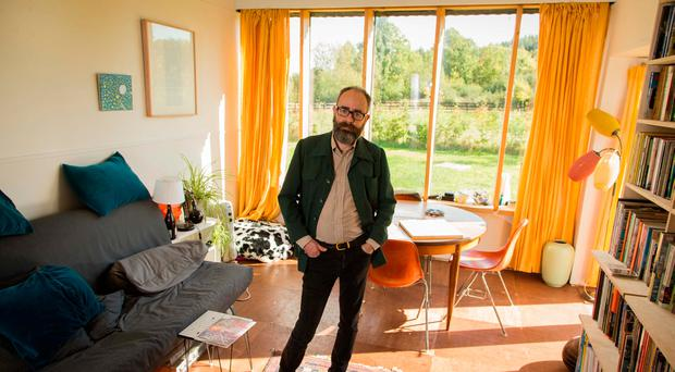 Meet the architect who built a three-bedroom house for his family... for €25,000