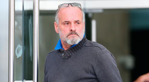John Purdue of Belcamp Avenue, Priorswood who was charged with assault, pictured leaving the Courts of Criminal Justice. Pic Frank McGrath