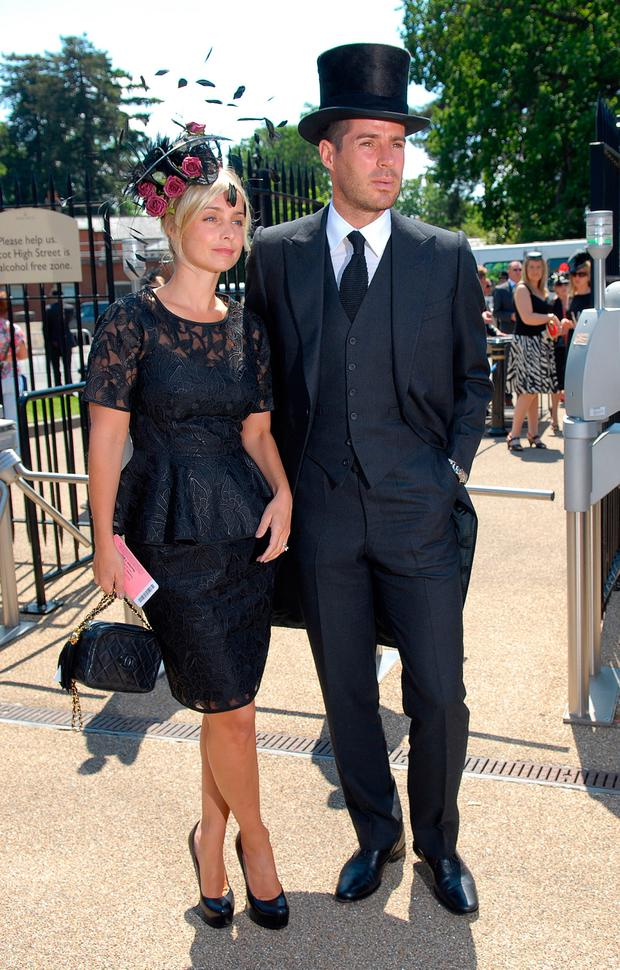 Louise Redknapp and Jamie Redknapp attend Royal Ascot Ladies Day on June 17, 2010 in Ascot, England. (Photo by Stuart Wilson/Getty Images)