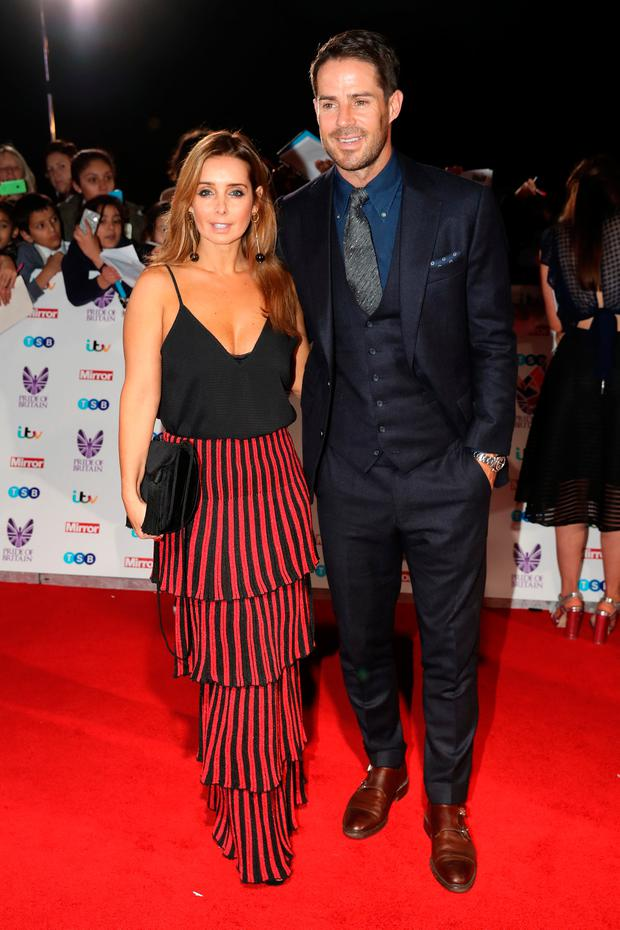 Louise Redknapp and Jamie Redknapp attend the Pride Of Britain awards at the Grosvenor House Hotel on October 31, 2016 in London, England. (Photo by Chris Jackson/Getty Images)