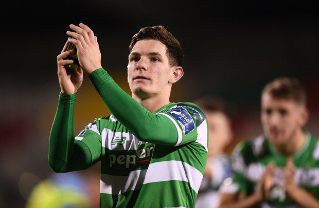 Trevor Clarke of Shamrock Rovers is expected to sign for Rotherham United.