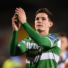 Trevor Clarke of Shamrock Rovers is expected to sign for Rotherham United