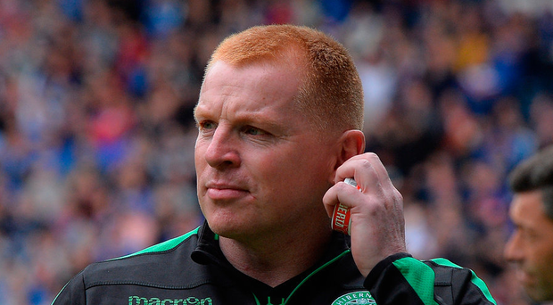 Neil Lennon is the latest manager attempting to end Celtic's winning run Photo: Getty