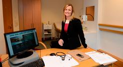 Dr Lorraine Brennan of Corporate Health Ireland in the IFSC, Dublin. Photo: Caroline Quinn