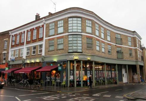 The Whole Foods store in Stoke Newington