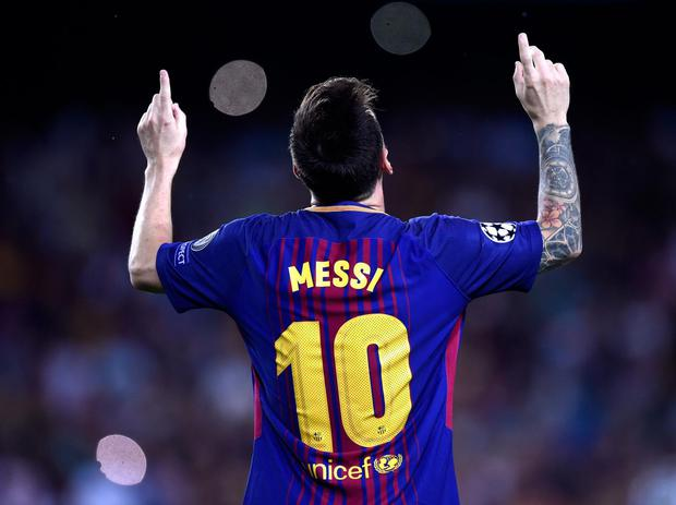 Messi could be in the Premier League soon. Getty