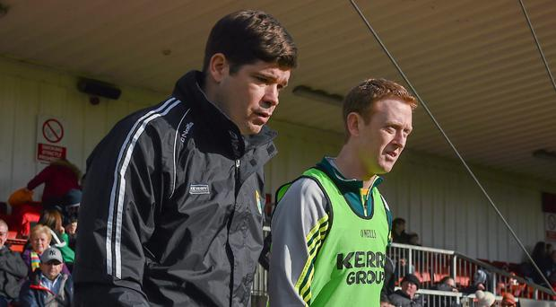 Eamonn Fitzmaurice and Colm Cooper