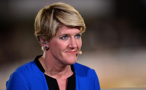 Clare Balding hosts the BBC coverage during Day Four of the UCI Track Cycling World Championships at Lee Valley Velopark Velodrome on March 5, 2016 in London, England. (Photo by Dan Mullan/Getty Images)