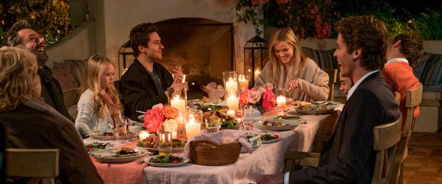 Reese Witherspoon in head of the table in 'Home Again'