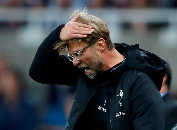 Klopp not happy at Newcastle
