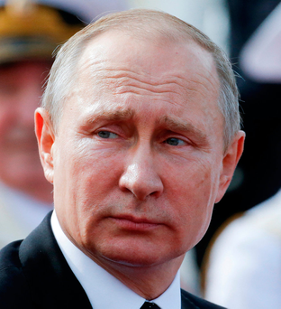 Russia's President Vladimir Putin Photo: REUTERS/Alexander Zemlianichenko/Pool/File Photo