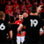 24 June 2017; Peter O'Mahony of the British & Irish Lions faces the haka during the First Test match between New Zealand All Blacks and the British & Irish Lions at Eden Park in Auckland, New Zealand. Photo by Stephen McCarthy/Sportsfile