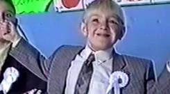 A young Conor McGregor