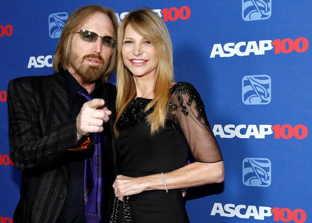 Musician Tom Petty and his wife Dana York