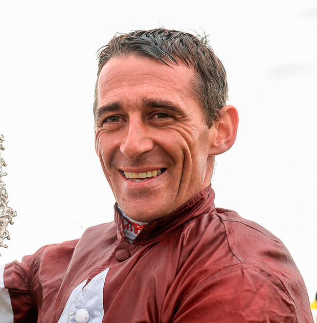 Davy Russell steered Death Duty to victory