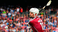 Joe Canning in action for Galway during the All-Ireland final Photo: Sportsfile