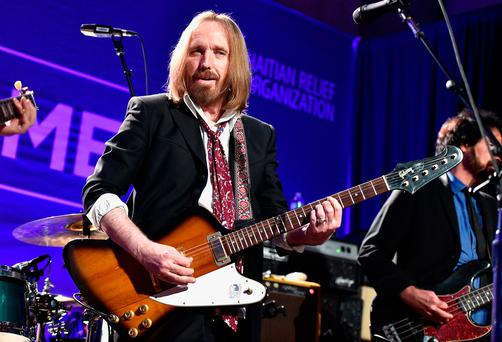 According to reports musician Tom Petty was found unconscious and rushed to hospital after suffering a cardiac arrest Photo: Getty