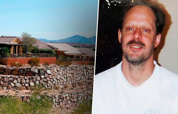 Stephen Paddock (pictured) lived in a retirement community in Mesquite, Nevada