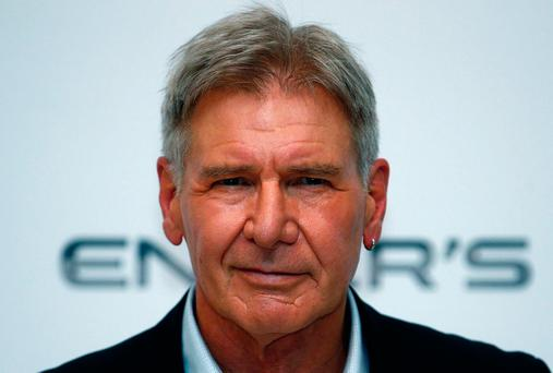 Double Deckard: Harrison Ford says he doesn't have much of a social life. Photo: REUTERS