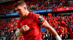 Peter O'Mahony believes there's a big season coming for this group of Munster players. Photo by Brendan Moran/Sportsfile