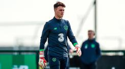 Kieran O'Hara pictured during squad training at the FAI National Training Centre in Abbotstown, Dublin. Photo: Seb Daly/Sportsfile