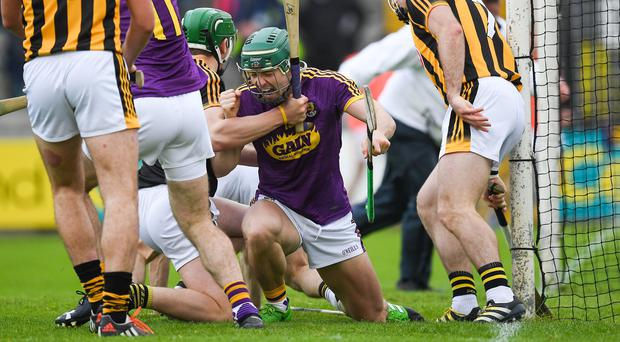 If Wexford beat Kilkenny in the early rounds of next year's championship, it won't have anything like the same impact. Photo: Ray McManus/Sportsfile