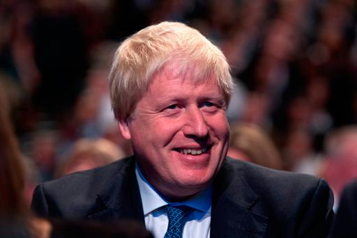 British Foreign Secretary Boris Johnson. Photo: GETTY