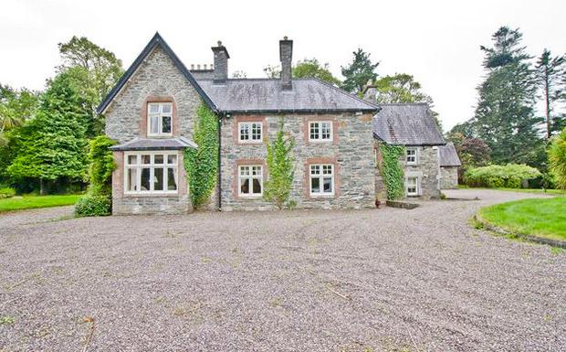 Glashnacree House in Derryquin, Sneem, Co Kerry. Picture: Bid X1