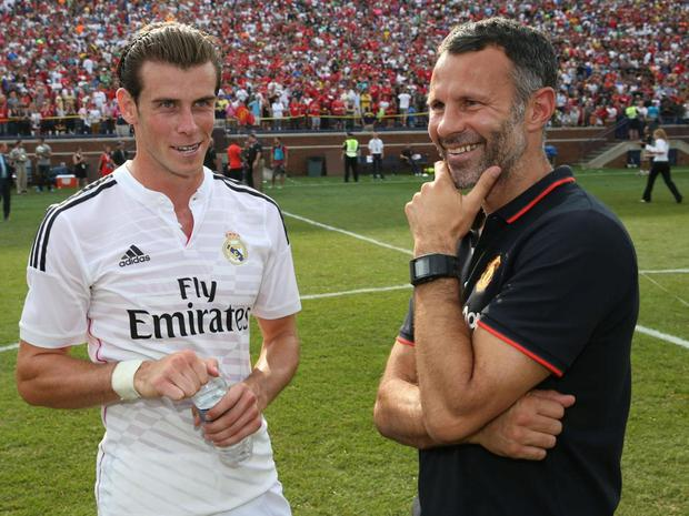 Giggs tried to persuade Bale to join Manchester United in 2013. Getty
