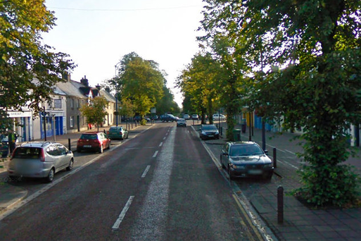 The alleged assault happened on Main Street in Maynooth this morning